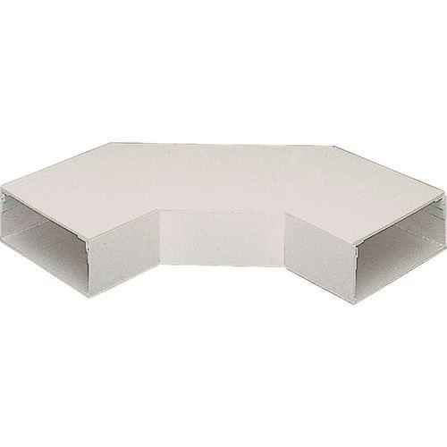 ■マサル エルダクト付属品 平面大マガリ 4030型 ホワイト  〔品番:LDM2432〕[TR-1303428]