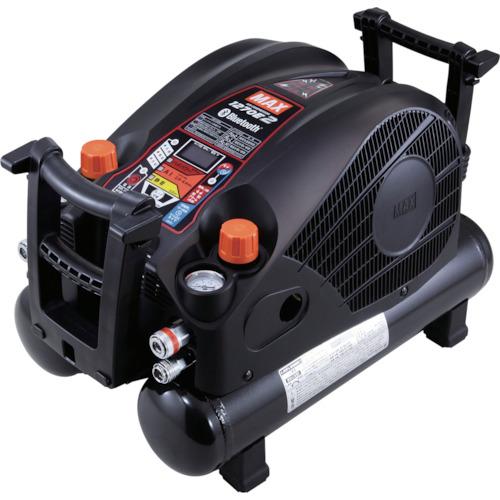 ■MAX 45気圧スーパーエアコンプレッサ 高圧専用 ブラック  〔品番:AK-HH1270E2BLACK〕[TR-1310007]【個人宅配送不可】