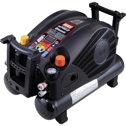 ■MAX 45気圧スーパーエアコンプレッサ 高圧・常圧兼用 ブラック  〔品番:AK-HL1270E2BLACK〕外直送元[TR-1310462]【個人宅配送不可】