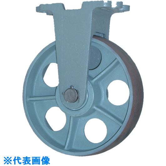 ■ヨドノ 重荷重用鋳物車輪固定車付 CHBーk150X65〔品番:CHB-K150X65〕[TR-1313864]