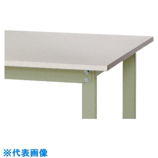 ■ヤマテック ワークテーブル ステンレス天板シリーズ 高さ調整タイプ移動式〔品番:SWS3AC-1875-SG〕[TR-1314978]【個人宅配送不可】