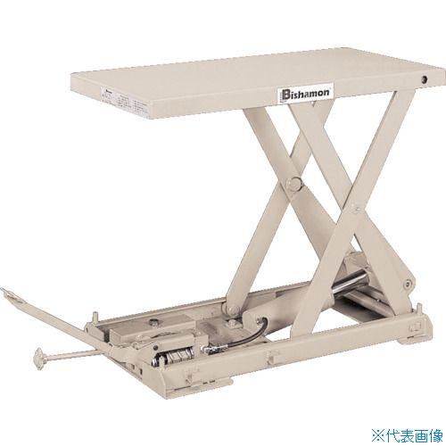 [定休日以外毎日出荷中] 〔品番:X-20C〕[TR-1315774]【大型・重量物・送料別途お見積り】:ファーストFACTORY ?ビシャモン テーブルリフト ちびちゃんシリーズ 足踏式 0 -DIY・工具
