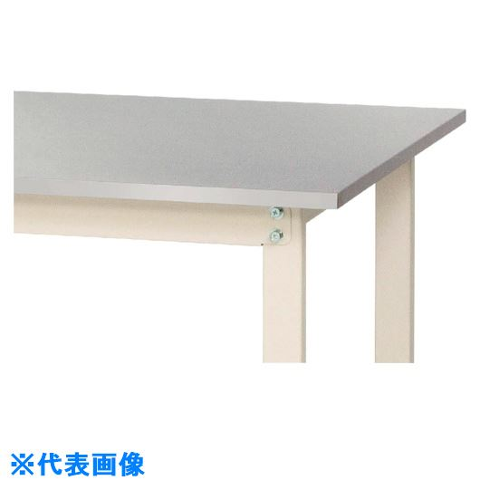 ■ヤマテック ワークテーブル ステンレス天板シリーズ 固定式〔品番:SWS3-1575-SI〕[TR-1318248]【個人宅配送不可】