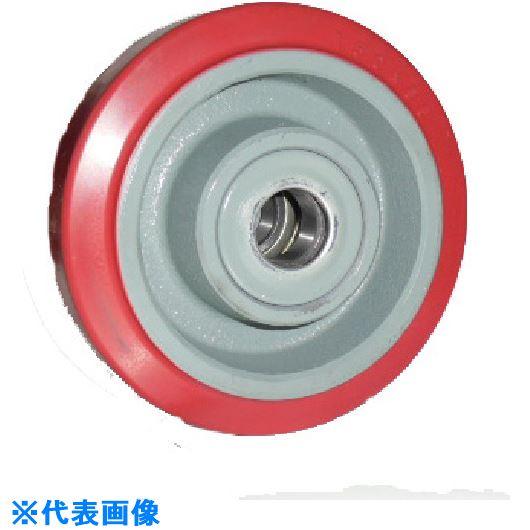 ■ヨドノ 重荷重用ジェンゴム車輪ベアリング入 GHB180X65  〔品番:GHB180X65〕[TR-1320342]