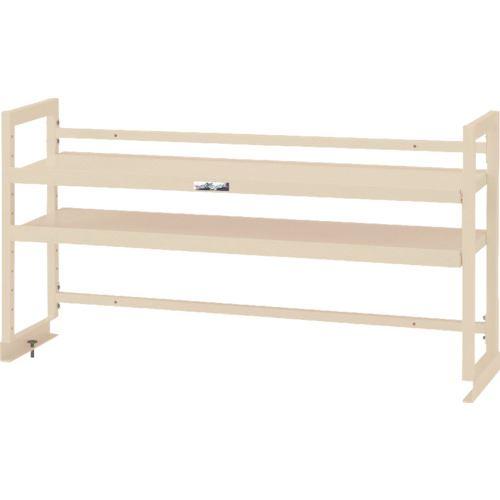 ■ヤマテック ワークテーブル架台 棚板2段タイプ〔品番:WK2-1500-IV〕[TR-1321363 ]【送料別途お見積り】
