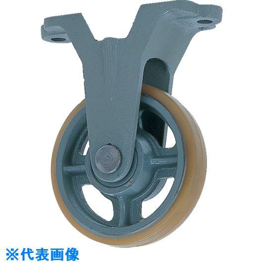 ■ヨドノ 鋳物中荷重用ウレタン車輪固定車付ベアリング入 300Φ〔品番:USB-K300〕[TR-1323464]