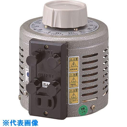 ?山菱 ボルトスライダー据置型 電圧計付 最大電流100A 入力電圧100V 〔品番:S-130-100M〕外直送元[TR-1324666]【大型・重量物・個人宅配送不可】