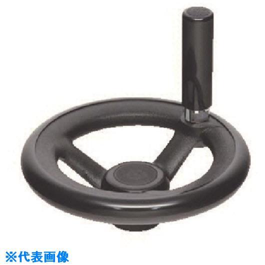 ■イマオ ハンドル 丸リム型エンプラハンドル車(加工付) ハンドル径315MM  〔品番:RP315ER-H26〕[TR-1327287]