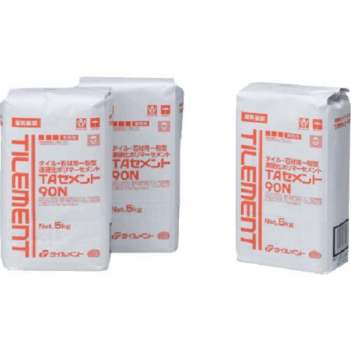 ■TILEMENT タイル用接着剤 TAセメント90N 5kg《4個入》〔品番:37610050〕[TR-1327417]