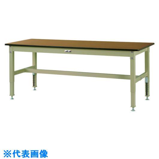 ■ヤマテック ワークテーブル800シリーズ 高さ調整タイプ〔品番:SVMA-1590-MG〕[TR-1330800]【個人宅配送不可】