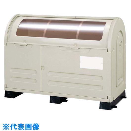 ■ミヅシマ ステーションボックス 固定台付 透明#800B  〔品番:2030271〕[TR-1332949]【大型・重量物・個人宅配送不可】