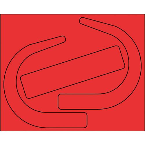 ユニット ブランド激安セール会場 墜落制止用器具用識別シール ■ユニット 希少 安全帯使用確認ステ 大蛍光赤 TR-1334100 10枚 〔品番:335-28R〕