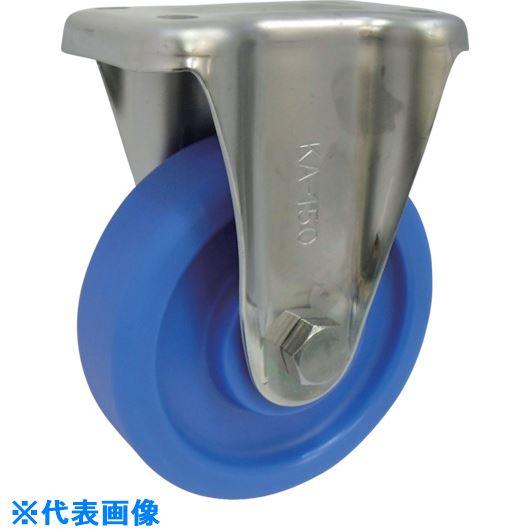 ■ヨドノ MCナイロン車輪(ベアリング入)ステンレス製固定金具付  〔品番:MCVS-KA130〕[TR-1336089]