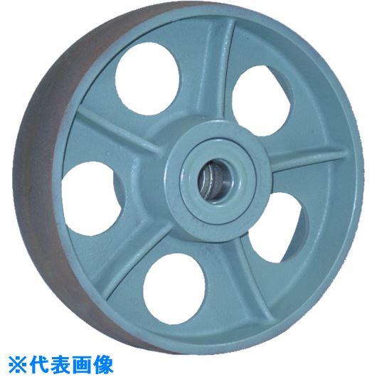 ■ヨドノ 重荷重用鋳物車輪ベアリング入 CHB300X90〔品番:CHB300X90〕[TR-1337583]