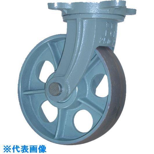 ■ヨドノ 重荷重用鋳物車輪自在車付 CHBーg300X75〔品番:CHB-G300X75〕[TR-1337689]