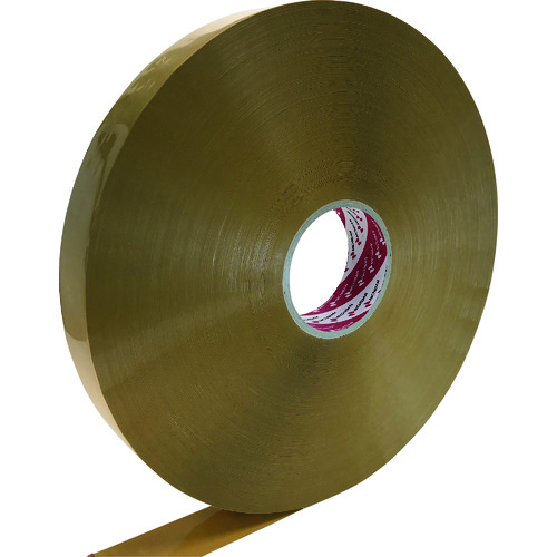 ■ニチバン PANFIXカートンテープ640黄土 38MM×1000M 6巻入 〔品番:640PF7-38X1000〕[TR-1342657×6]