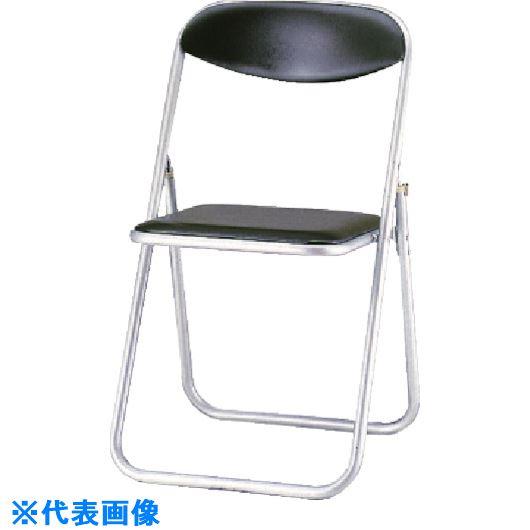 ■ライオン オリタタミ椅子 #414P ダークブラウン〔品番:50758〕[TR-1343543 ]【送料別途お見積り】