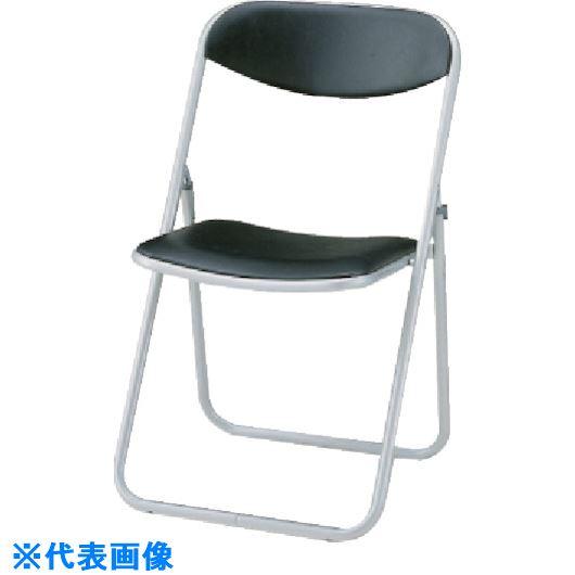 ライオン事務器 817803 折りたたみパイプ椅子 ■ライオン 折りたたみ椅子 #216P TR-1345194 事業所限定 法人 在庫一掃売り切りセール 百貨店 送料別途見積り ブラック〔品番:69905〕 外直送