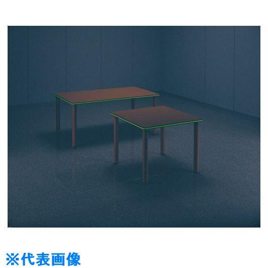 ■ライオン 木製テーブル RW-1690L〔品番:58437〕[TR-1345258 ]【個人宅配送不可】