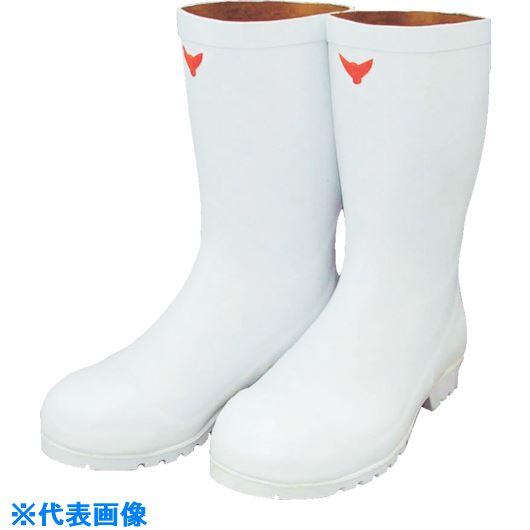 ■SHIBATA 安全耐油長靴(白) 26.0  〔品番:SB531-26.0〕[TR-1345927]