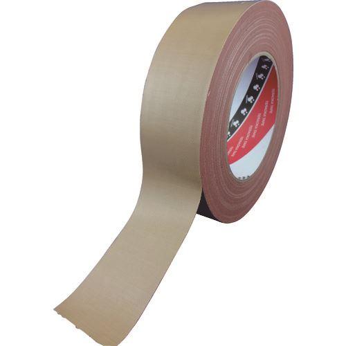 ■TERAOKA 包装用布テープ NO.1590 100MMX25M 18巻入 〔品番:1590〕[TR-1347011×18]