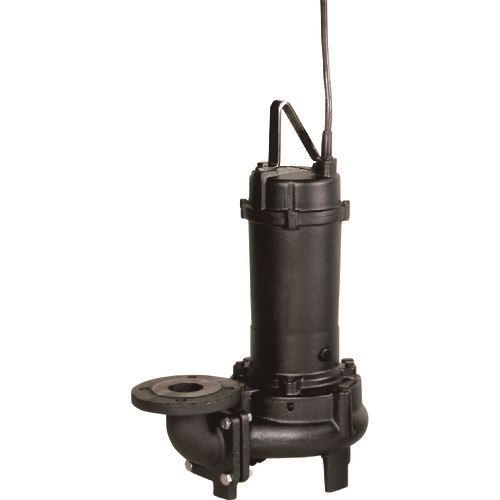 ■エバラ DV型固形物移送用ボルテックス水中ポンプ 50Hz 口径80mm〔品番:80DV55.5A〕[TR-1348573]【個人宅配送不可】
