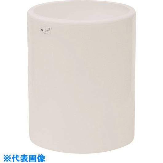 ■スイコー MH型 開放円筒型容器200L 白  〔品番:MH-200-W〕[TR-1349053]