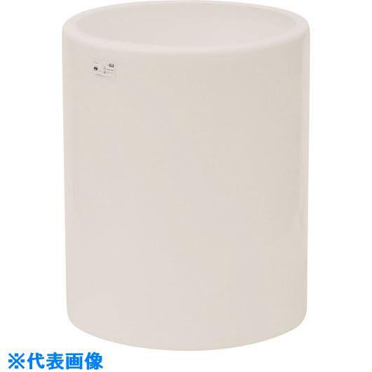 ■スイコー MH型 開放円筒型容器1000L 白  〔品番:MH-1000-W〕[TR-1349058]