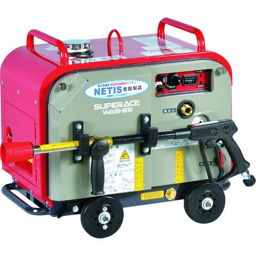 ■スーパー工業 ガソリンエンジン式 高圧洗浄機 SEV-1615SS(防音型)〔品番:SEV-1615SS〕[TR-1349377]【個人宅配送不可】