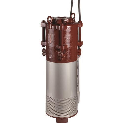 ■エバラ BMS型水中渦巻ポンプ 60Hz 口径80mm〔品番:80BMS63.7A〕[TR-1350210]【重量物・個人宅配送不可】