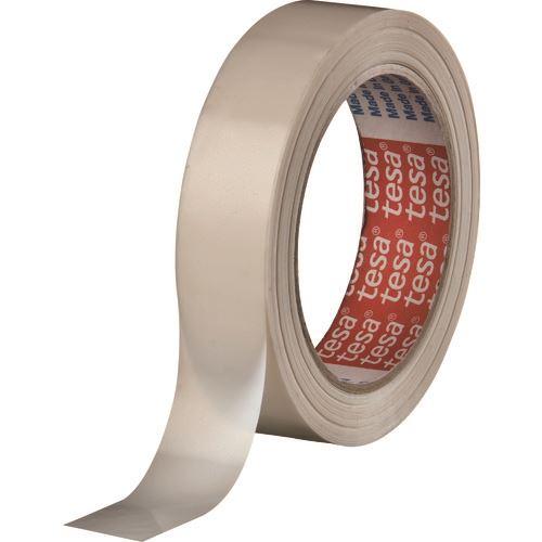 ■TESA ストラッピングテープ クリーム色 25MMX55M 72巻入 〔品番:4298-25-55〕[TR-1353765×72]