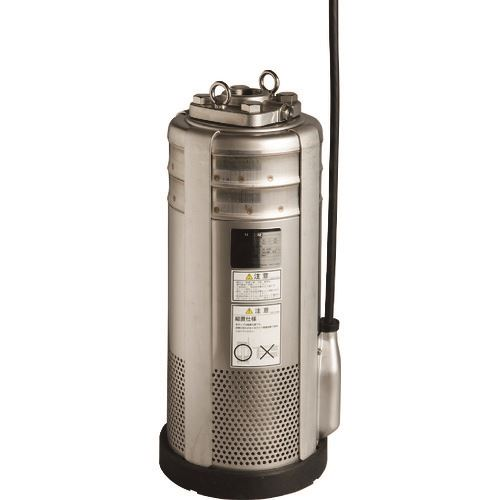 ■エバラ BMSP型 ステンレス製 水中渦巻ポンプ 60HZ 口径80MM〔品番:80BMSP2611A〕[TR-1354981]【大型・重量物・個人宅配送不可】