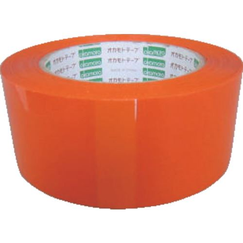 ■オカモト OPPテープ 48×100 オレンジ《50巻入》〔品番:333C-O〕[TR-1357949×50]