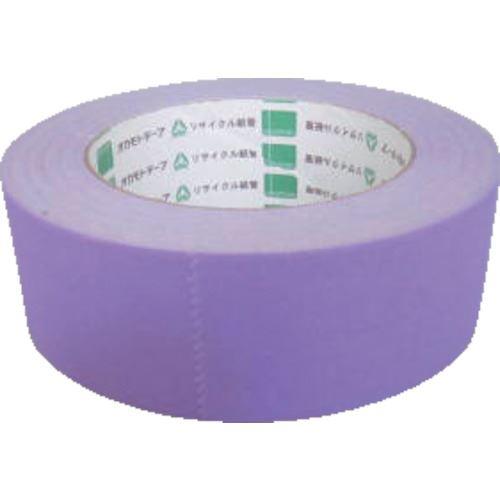 ■オカモト クラフトテープ NO224WC 環境思いカラー紫 38ミリ 60巻入 〔品番:224WC3850V〕[TR-1357981×60]