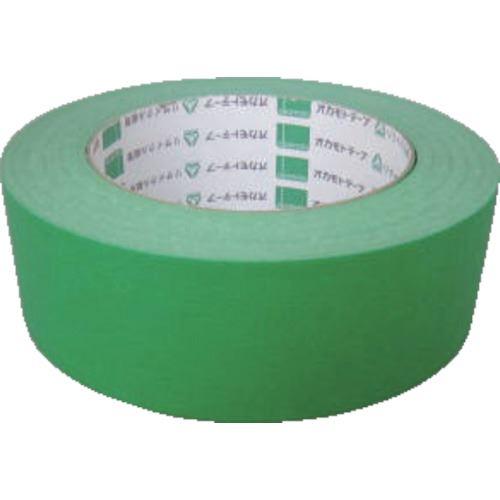 ■オカモト クラフトテープ NO224WC 環境思いカラー緑 38ミリ 60巻入 〔品番:224WC3850G〕[TR-1357985×60]