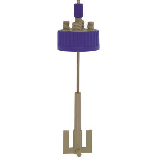 ■SIBATA 撹拌反応容器用キャップセット(シャフト付き) GLS-80〔品番:016000-801〕[TR-1358428]