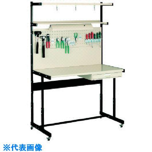 ■OS ラインテーブル移動式高さ調整式P型  〔品番:LTH121PC〕[TR-1359458]
