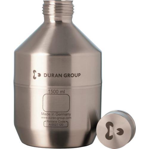 ■SIBATA ステンレスボトル ボトルのみ(UN規格) 1.5L〔品番:017200-1500〕[TR-1360062]