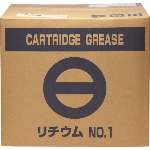 ■SYK カートリッジグリース400G リチウムグリース#1 20本入 〔品番:SO-323〕[TR-1360094×20]