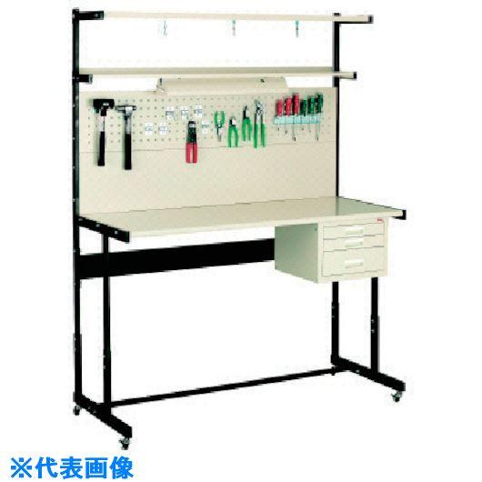 ■OS ラインテーブル移動式高さ調整式P型  〔品番:LTH152PC〕[TR-1362566]