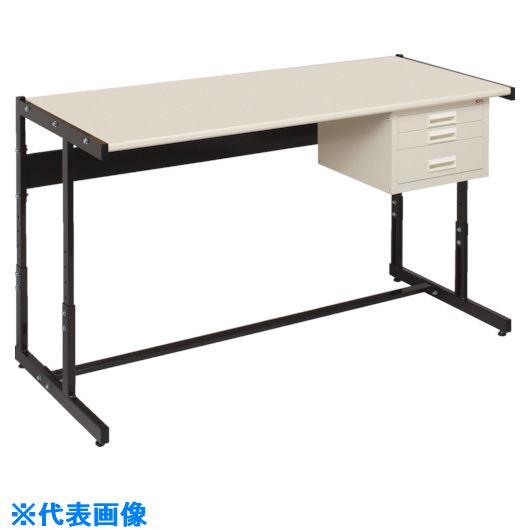 ■OS ラインテーブル高さ調整式〔品番:LTH122〕[TR-1362578]【個人宅配送不可】