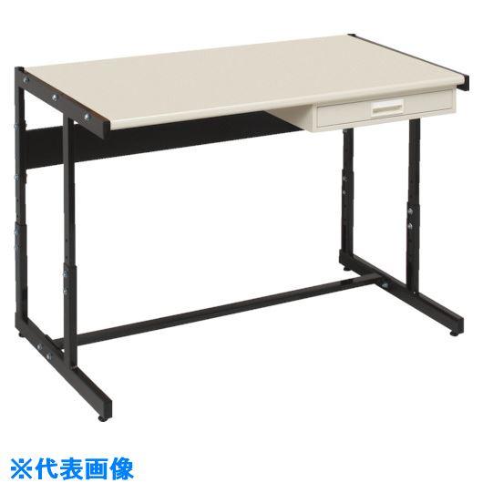 ■OS ラインテーブル高さ調整式〔品番:LTH151〕[TR-1362659][送料別途見積り][法人・事業所限定][外直送元]