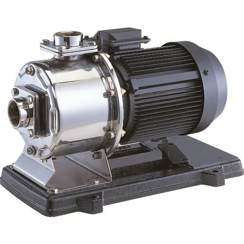 ■エバラ MDPE型ステンレス製多段渦巻ポンプ 50Hz 口径32mm 出力0.6kW〔品番:32MDPE26.6S〕[TR-1362841]【個人宅配送不可】