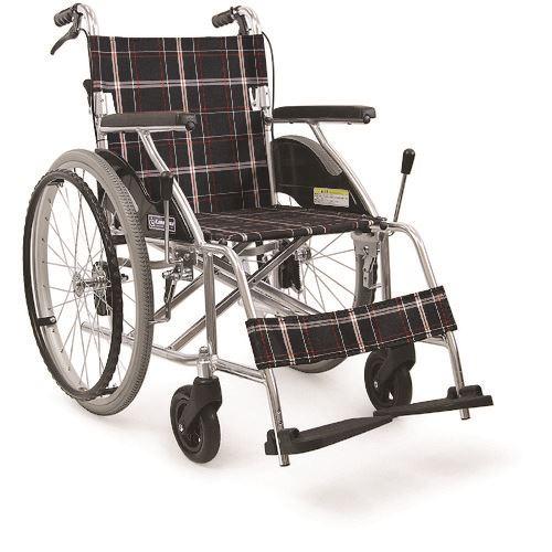 ■カワムラ アルミ標準型自走用車いすKV22〔品番:KV22-40SB〕[TR-1365158 ■カワムラ ]【送料別途お見積り】, selfish:ba343323 --- m.vacuvin.hu