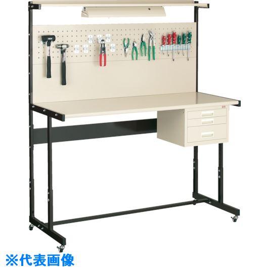 ■OS ラインテーブル移動式高さ調整式N型〔品番:LTH92NC〕[TR-1365749]【重量物・個人宅配送不可】