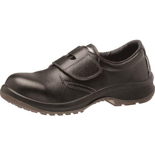 ■ミドリ安全 マジックタイプ安全靴 プレミアムコンフォートシリーズ PRM215 ブラック 24.0CM  〔品番:PRM215-24.0〕[TR-1365853]