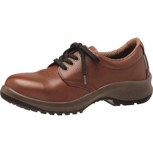 ■ミドリ安全 女性用安全靴 プレミアムコンフォートシリーズ LPM210 ブラウン 23.5CM  〔品番:LPM210-BR-23.5〕[TR-1365878]
