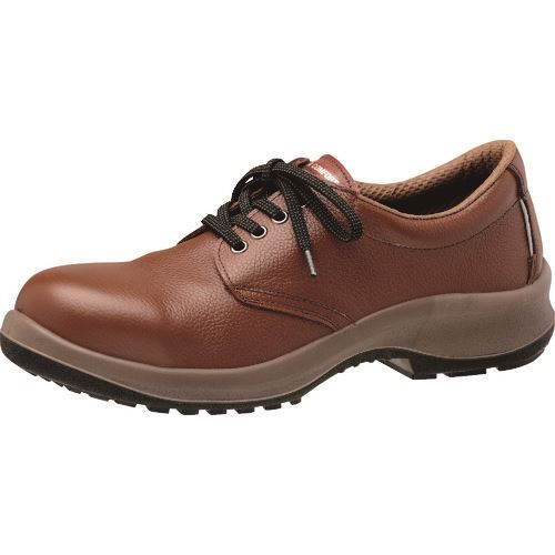 ■ミドリ安全 安全靴 プレミアムコンフォートシリーズ PRM210 ブラウン 25.5CM  〔品番:PRM210-BR-25.5〕[TR-1365895]
