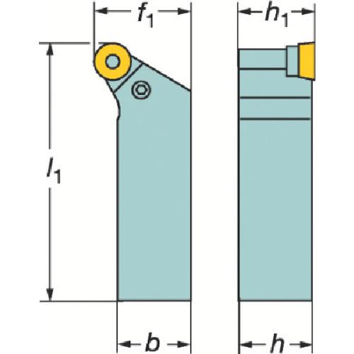 ■サンドビック T-MAX P ポジチップ用シャンクバイト  〔品番:PRGCR〕[TR-1368826]