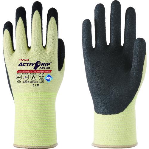■トワロン 耐切創手袋 ActiveGrip ATA534 M《12双入》〔品番:534-M〕[TR-1373741×12]
